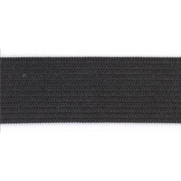Резинка Ekoflex Стандарт 04мм (нам. 50м) цв. черный, коробка, 5000 м.